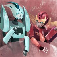blurr and rodi by keen44