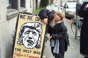 ugly mug and THE BUGlatte by jazzy