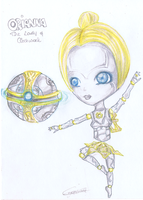 LoL: Orianna Chibi :OLD: by iEmme