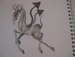 Arrow Stag by CourtesyOfHerDreams