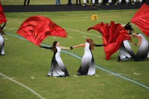 North Hardin Colorguard by RadioactiveFlowers