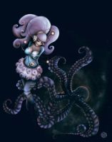 Octopus Girl by ARTdesk