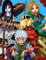 the three sanin by babypie271