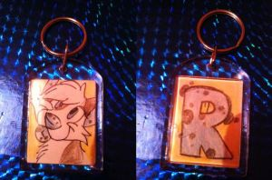 Rena Keyring by Flimingow
