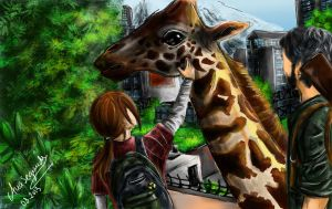 The Last of Us - Giraffe by Anaeraa
