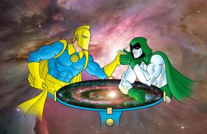 DR. FATE VS THE SPECTRE by Thuddleston
