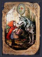 Little Red Ridinghood by Bohemiart