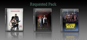 Requested DVD Icons 1 by manueek