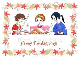 Champloo Thanksgiving - Color by aruarian-dancer
