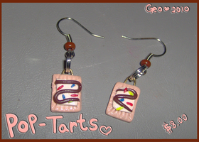 Pop-Tart Earrings by geothebio