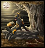 Halloween Umbreon. by MiLe-08