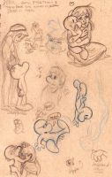 Bone Sketch page 1 and 2 by Livie-Lightyear