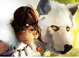 Mononoke. by thedarkinker