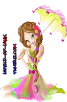 Naturally Beautiful Flora PNG One! by Magic-World-of-Winx