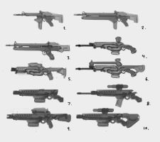 Weapon Sheet 3 by ModalMechanica