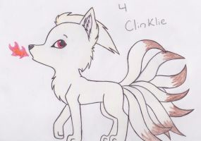 Ninetales for Clinklie by WillowPawz