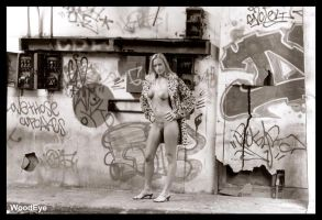 Stacy Graffitti Nude by woodeye