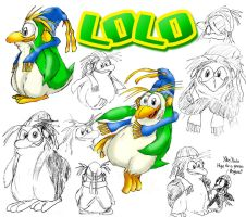 Lolo my Penguinsona by UncleLaurence