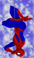 Spider-Man and little friend by pascal-verhoef