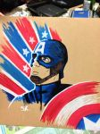 Capt. America by thelonelyhorse24