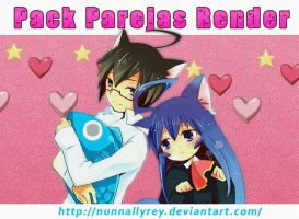 Pack Parejas Anime by Nunnallyrey