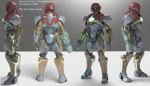 MP3: C/ Halo 4 Cross over - P.E.D. Suit by Dutch02