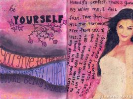 Art Journal - Be Yourself by isnani