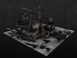 Warhammer Catapult - HP by jotun