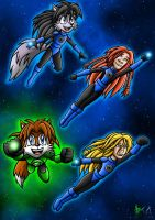 Lobo and Lupe's Lantern Children by Berty-J-A