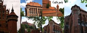 Castle pack by Comacold-stock