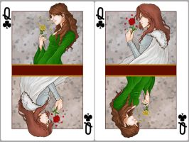 Queen of Clubs: Margaery x Sansa by SephyStabbity