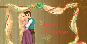 tangled christmas by TT-RS