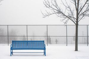 Empty Bench by NourhanB