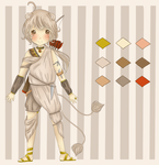 Offer to Adopt 3: Lion Archer Boy by kingofe3