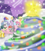 carols of the holidays. (HAPPY HWE EVERYBRONY!!) by djjafeth