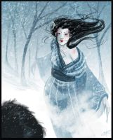 Yuki Onna by silentkitty