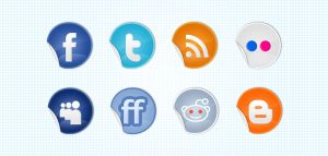 FREE Social Icons Stickers by ait-themes