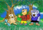 Billy the Beaver2 by DannoGerbil
