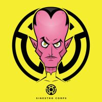 Sinestro Vector by funky23