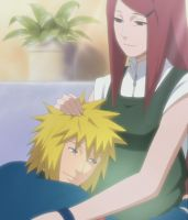 Minato and Kushina In Love by Sunite