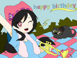 happy birthday by abeer-20