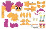 002 Scootaloo (Joinys 2.0) by ELJOEYDESIGNS