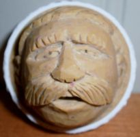 Dont Dodge this Golfball Carving... by Des804