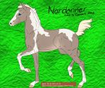 Silver Smoky Cream Tobiano- SS2 by SweetStreamStables