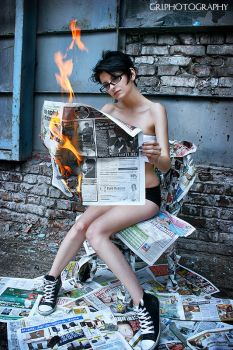 Hot News II by GriPhotography