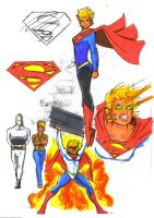 Supergirl Sketches by Jochimus