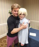 Me with Vic Mignogna by Piplup501