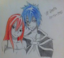 Jellal and Erza by Jelly9614