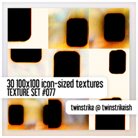 Texture Set 077 by twinstrikeish