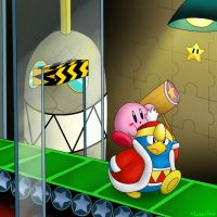 Kirby 30 Day Challenge: Day 10 by LunarHalo24